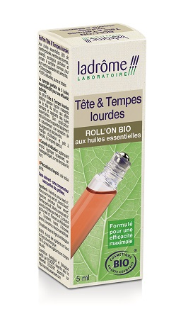 roll'on bio tete et tempes lourdes 5 ml