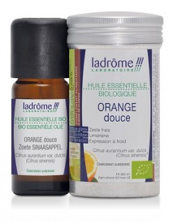 Flacon d'huile essentielle Orange douce bio 10 ml