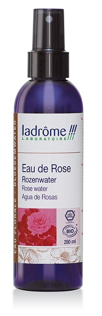 flacon d'eau florale de rose bio 200 ml