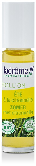 Flacon de roll'on été à la citronnelle 10 ml