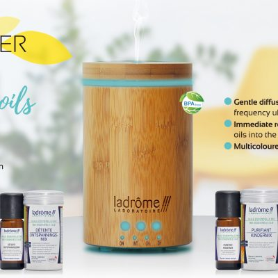 DIFFUSER ORGANIC TABLETS for ESSENTIAL OILS